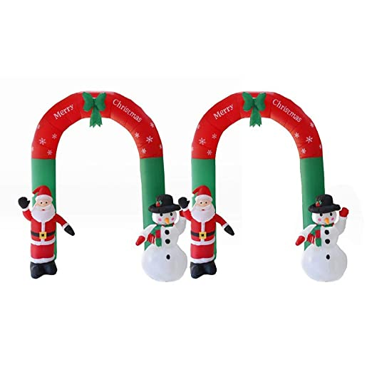 Blentude - Arco de Navidad Hinchable con Luces LED para ...