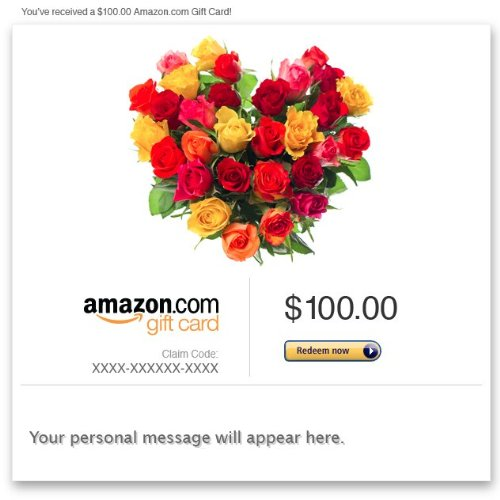 Amazon eGift Card - Flower Heart