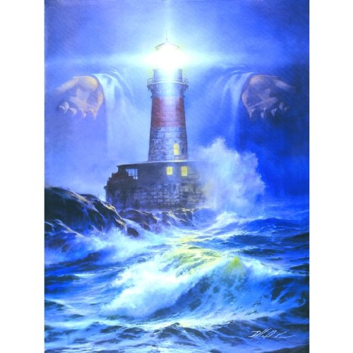 Puzzle Religious - I Am the Light a 1000-Piece Jigsaw Puzzle by Sunsout Inc.