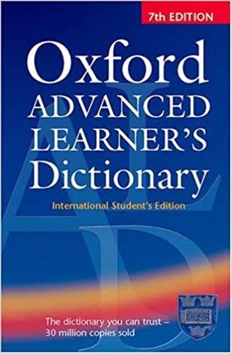Oxford Advanced Learner's Dictionary: Oxford University Press
