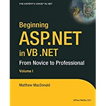 Beginning ASP.NET in VB .NET: From Novice to Professional