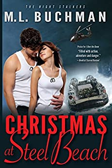 Christmas at Steel Beach (The Night Stalkers and the Navy Book 1) by [Buchman, M. L.]