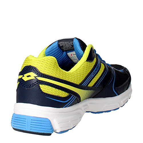 Lotto Zenith Viii, Zapatillas de Running para Hombre Azul / Verde (Blu Avi / Grn Aca)