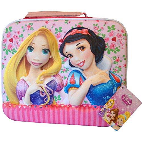 Disney Princess Schneewittchen Girl& Rapunzel 3D School Lunch-Tasche