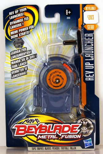 Galleon Hasbro Beyblade Metal Fusion Fast Launch Rev Up