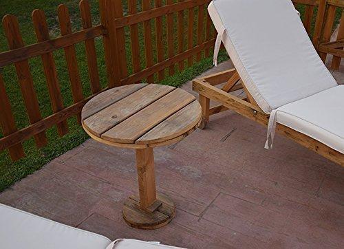 Mesa auxiliar de Palets. paletsymuebles: Amazon.es: Handmade