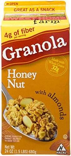 Sweet Home Granola Honey Nut, 24 oz