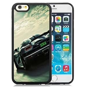 NEW Unique Custom Designed iPhone 6 4.7 Inch TPU Phone Case With Koenigsegg Super Car_Black Phone Case