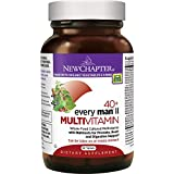 New Chapter Every Man II 40+, Men's Multivitamin Fermented with Probiotics + Selenium + B Vitamins + Vitamin D3 + Organic Non-GMO Ingredients - 96 ct
