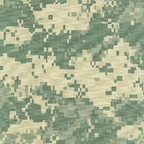 ACU Army Digital Camouflage 1.1 Oz Nylon Ripstop Fabric 5 Yards X 66