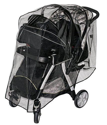 Weather Cover For Double Stroller - 8