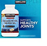 Kirkland Signature Extra Strength Glucosamine HCI 1500mg With MSM 1500 mg 375 Tablets