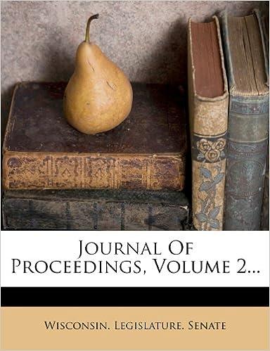 Book Journal Of Proceedings, Volume 2...