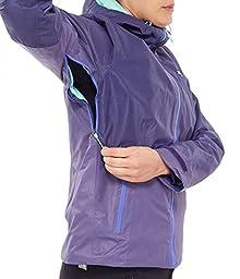 The North Face Fuseform Dot Matrix Jacket - Womens (Medium, Dramatic Plum Tri Matrix)