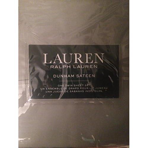 Wholesale Lauren Ralph Lauren Dunham Sateen 3 Piece Twin Sheet Set Moss for cheap