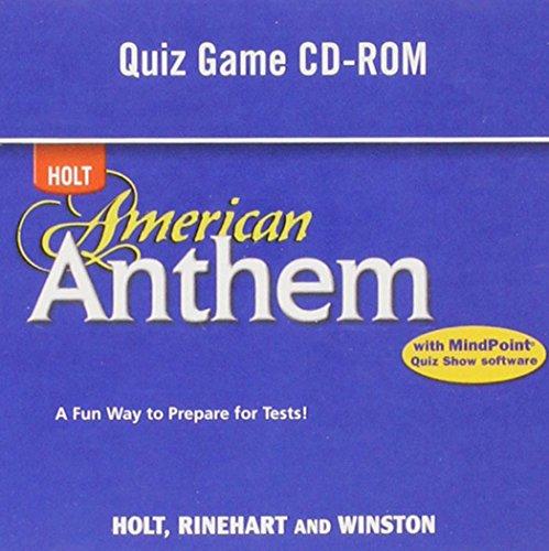 American Anthem: Quiz Game CD-ROM