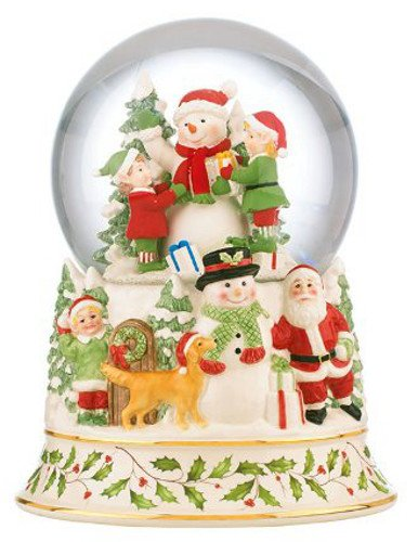 Musical Snowglobe Centerpiece by Lenox by Lenox
