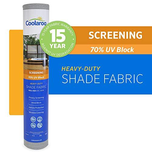 Coolaroo 457921 Shade Fabric, Stone (Coolaroo Shade Cloth)