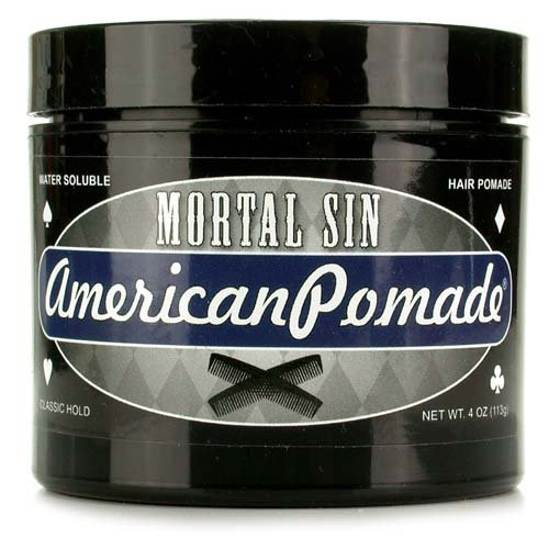 American Pomade Mortal Sin Water Soluble Hair Pomade