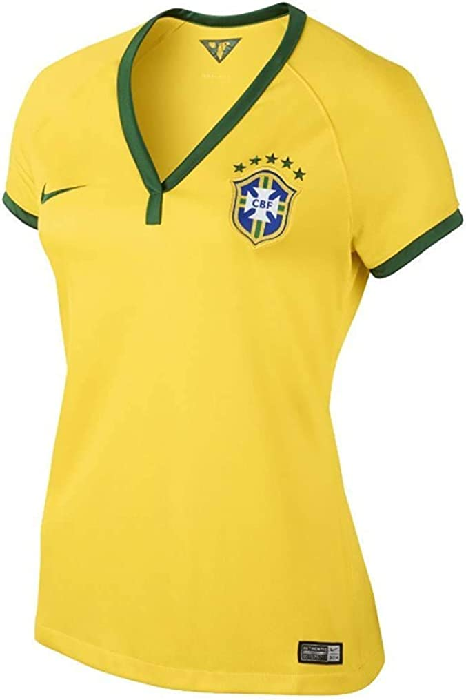 Nike Brazil Women's Home Soccer Jersey