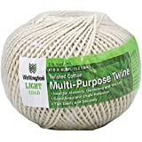 WELLINGTON CORDAGE 16195 Number 18 X 400-Feet Cotton Cable Cord