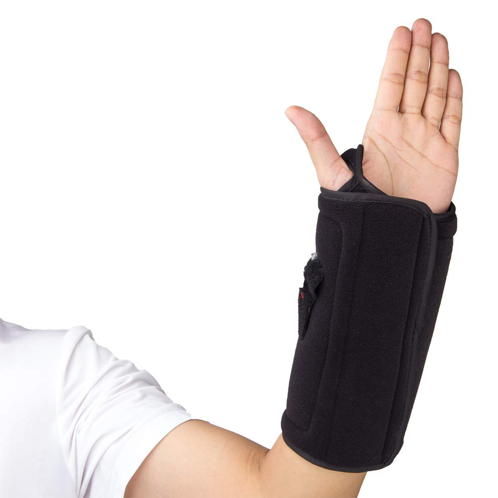 Wrist Support Reusable Hot/Cold Therapy & Air Compression Brace, Alleviates Pain from Sprains, Strains, Tendonitis, Arthritis and Carpal Tunnel
