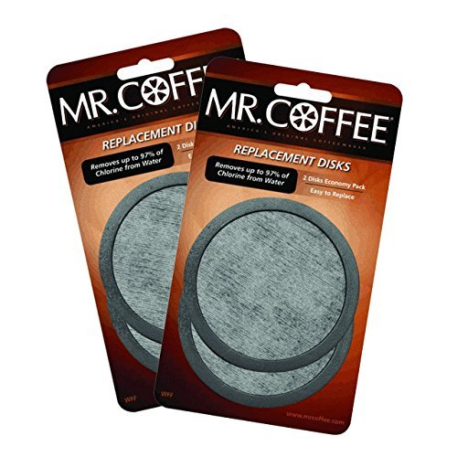 2 X Mr. Coffee Water Filter Replacement 2pk ()