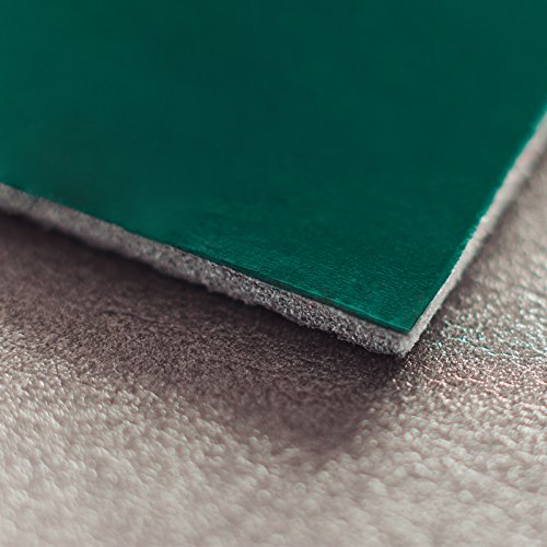 Noico Green 170 mil 18 sqft Car Waterproof Sound Insulation, Heat and Cool Liner, Self-Adhesive Closed Cell PE Foam Deadening Material (1/6'' Thick Sound Deadener)
