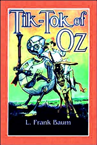 book cover of Tik-Tok of Oz