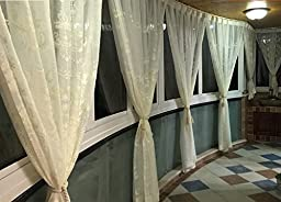 EleCharm 1Pair Creative Chinese Knot Curtain Tassel Holder American Cotton Tie Rope