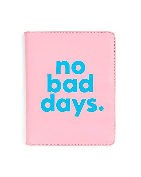 ban.do Design get it Together Folio Ring Binder, no Bad Days (71634)