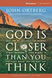 img - for God Is Closer Than You Think Participant's Guide: This Can Be the Greatest Moment of Your Life Because This Moment is the Place Where You Can Meet God (ZondervanGroupware Small Group Edition) by Ortberg, John (2005) Paperback book / textbook / text book