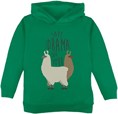 Old Glory Save The Drama For Your Llama Pun Toddler Long Sleeve T Shirt
