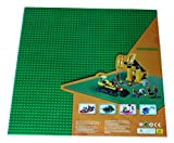 Green X-large Baseplate, Construction Base Plates, 50x50 Studs (15 x 15), Great for Activity Table or Displaying Construction Toy (Green)