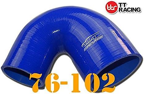 4-ply silicone Joiner 135/gradi gomito riduttore tubo blu