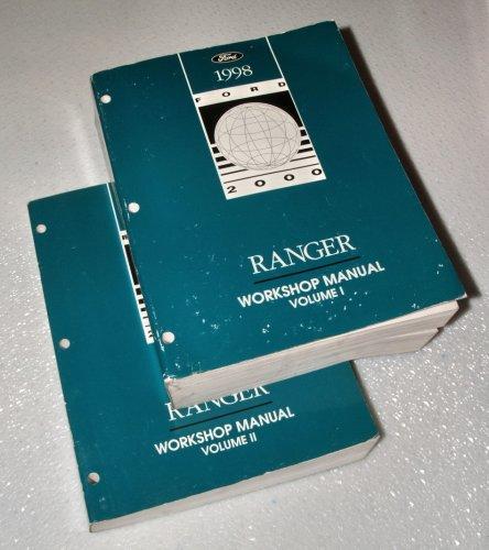 1998 Ford Ranger Truck Workshop Manuals (2 Volume Set) (Truck Manual Ranger Factory Service)
