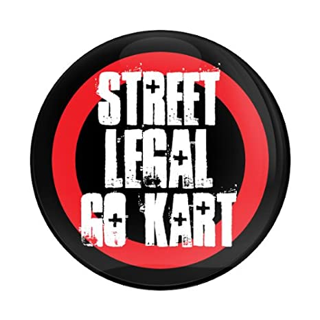 GoBadges STREET LEGAL GO CART - 3