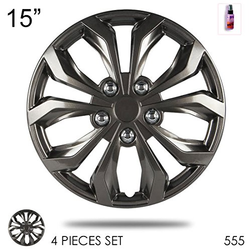 Design Plastic Hubcaps Gunmetal Performance