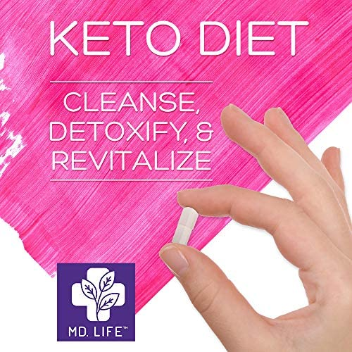 MD Life Keto Diet 5 Day Starter Cleanse Kit Detox Diet Pills Lose Weight No Carb Maintain Rapid Ketosis 4