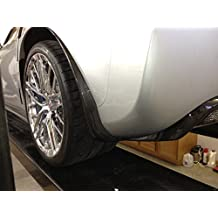 Corvette C6 Z06 ZR1 or Grand Sport Carbon Fiber HydroGraphics Mud Splash Guards