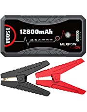 NEXPOW Car Battery Starter Q10S, 1500A Peak 12800mAh 12V Car Auto Jump Starter Power Pack with USB Quick Charge 3.0 (Up to 7L Gas or 5.5L Diesel Engine)