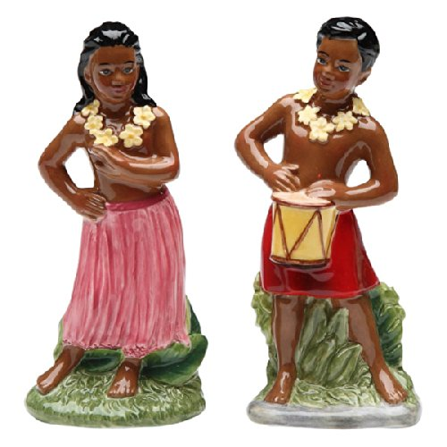 hawaiian salt and pepper shakers - 4