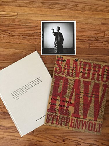 Audiobook cover from Raw: Steppenwolf: Photographs By Sandro Miller by Sandro (Photographer); Allen, Joan; Malkovich, John; Sinise, Gar