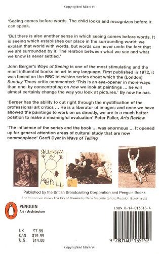 Ways of Seeing: Based on the BBC Television Series (Penguin Books for Art)