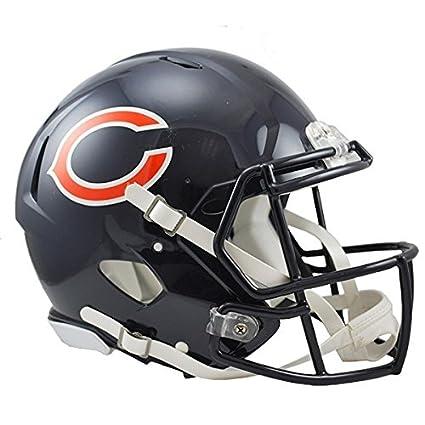 NFL Chicago Bears oficial réplica casco – tamaño completo – Pantalla sólo