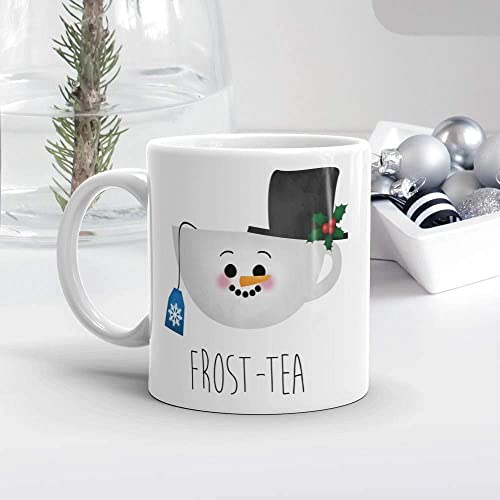 Cute Christmas Puns.Amazon Com Funny Saying Mug Frost Tea Tea Lover Gift