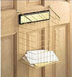 Select Hardware Top Opening Post Letterbox Letter Cage with Brass Finish | 12