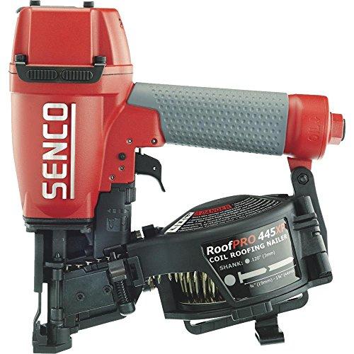 Senco 8V0001N 1-3/4″ 15 Degree Angle Wire Coil Nailer, Red/Gray
