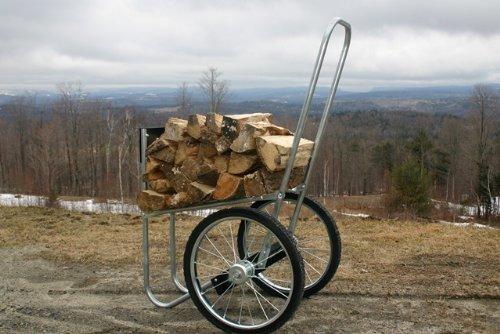 Carts Vermont Super Chuck Firewood Cart (Cart Vermont Garden)