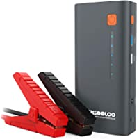 $69 » GOOLOO 1200A Peak 18000mAh SuperSafe Car Jump Starter with USB Quick Charge (Up to 7.0L…